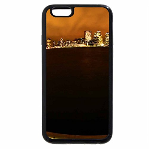 iPhone 6S / iPhone 6 Case (Black) An eye on Manhatten
