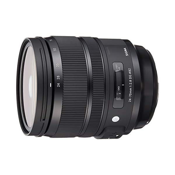 RetinaPix Sigma 24-70mm f/2.8 DG OS HSM Art Lens for Canon DSLR Camera-Black