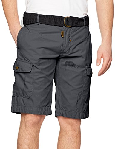 Geographical Paladium Homme Short Norway blue grau Gris Men rFqprw6Z