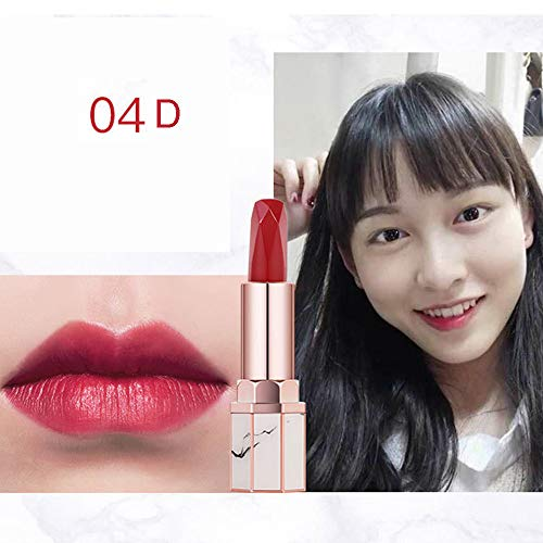 Franterd Lipstick Women Profession Waterproof Long Lasting Velvet Matte Lipstick Lip Gloss Cosmetic Beauty MakeupTool