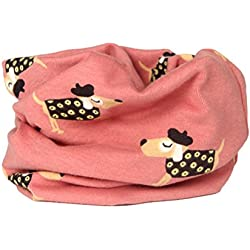 Tinksky Winter Warm Soft Cotton Scarf Shawl Neckerchief Circle Neck Scarves Christmas Birthday Gift for Kid Boy Girl (Cartoon Dog)
