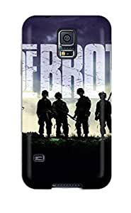 High Quality Shock Absorbing Case For Galaxy S5-band Of Brothers Tv Series by mcsharks
