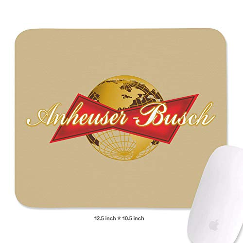 Mouse Pad Anheuser Busch InBev Beers Big Mouse Pad Classic Funy Mouse Pad Durable Waterproof Nonslip Fit Office&Family ()