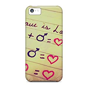 fenglinlinForever Collectibles Love Is Love Hard Snap-on ipod touch 4 Cases