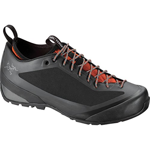 Arc'teryx Acrux FL Shoe Men Graphite/Bright Flame Größe 47 1/3 2016 Approachschuhe