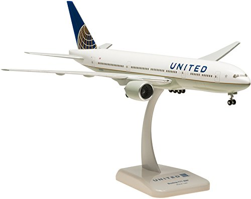 HG4661G Hogan United 777-200 1:200 W:GEAR Model Airplane