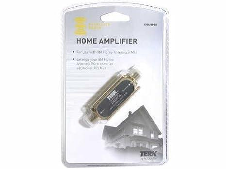 Audiovox XM XMAMP18 Terk 18dB In-Line Amplifier for XM6 Antenna (Black) XM SATELLITE RADIO