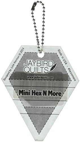 Jaybird Quilts JBQ203 Mini Hex N More Keychain Ruler