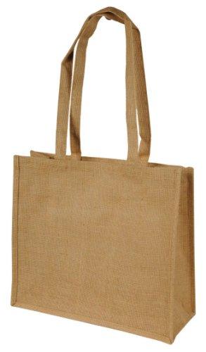 Shugon - Calcutta Long Handled Jute Shopper Bag - Natural - One