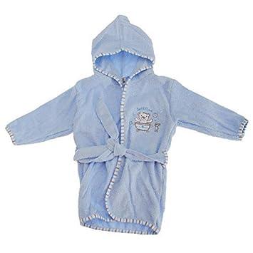 Amazoncom By Baby Unisex Hooded Teddy Bear Bathtime Robe