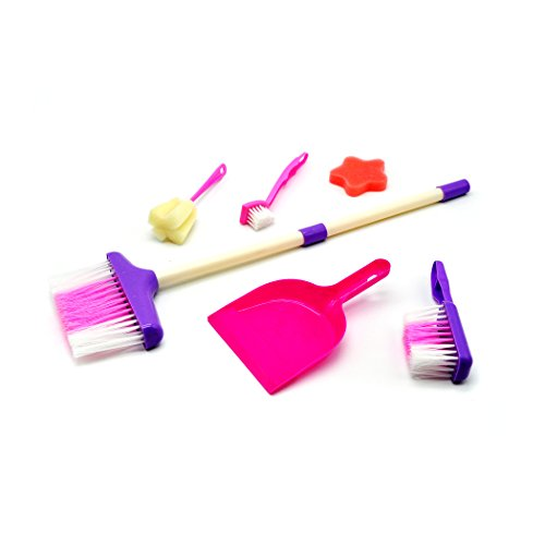 Little Treasures Mother's Little helper 6-Pc Small Sized cleaning play set (How Long Is A Light Year)