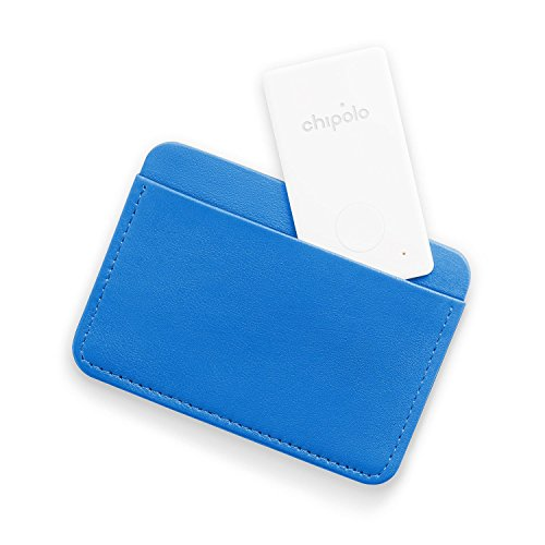 CHIPOLO Card - Ultra-Thin Bluetooth Tracking Device. Fits in Your Wallet. Easily Find Your Lost Wallet, Bag, Backpack, Etc. World's Loudest Speaker Alert (95+ dB). Battery Life 1+ Year! (1-Pack) by Chipolo