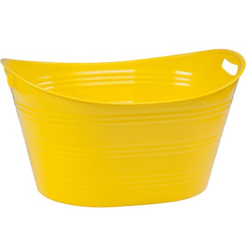 Large Party Beverage Tub Yellow by Creative Bath
