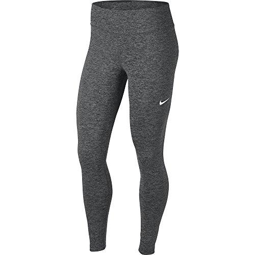 NIKE Women's Power Training Victory Tights, Black Heather/White, X-Large (Nike Sweatpants Xl Women)