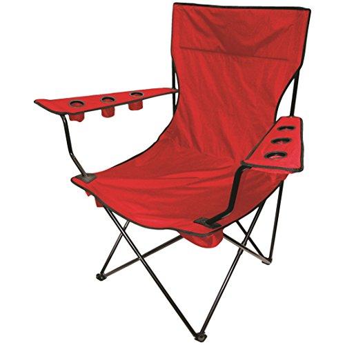 Coca Cooler Cola Fun - On The Edge 810170 Kingpin Giant Folding Chair (Red)