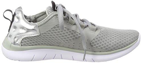 Champion Women's Low Cut Alpha Cloud Running Shoes Grey (Hugh Rise Grey Es006) a29XIrlpM
