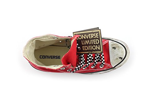 All Adulto Edition Taylor Sneakers Star Alte Chuck High Unisex Converse Rosso Tela Limited 46Iqwxp4