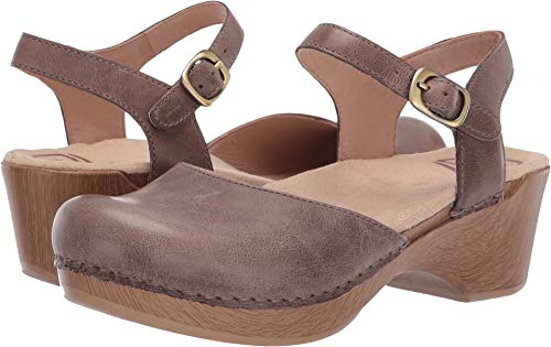 Dansko Women's Sam Stone Wavy Burnished 39 Regular EU ()