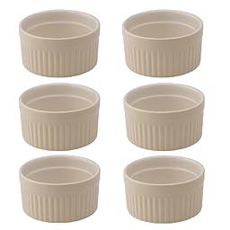 Mrs. Anderson\'s Baking Ceramic 2-Ounce Ramekin, Set of 6, Wheat