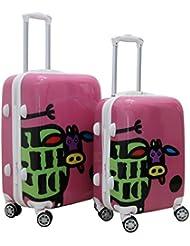 Zota 2 Piece Traveler Hardside Spinner Luggage Set