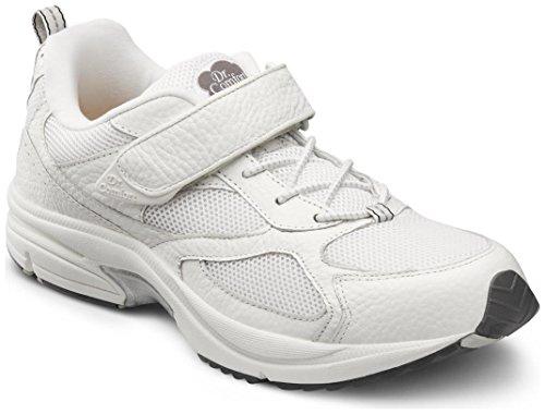 Dr. Comfort Herren Endurance White Diabetiker Sportschuhe Weiß