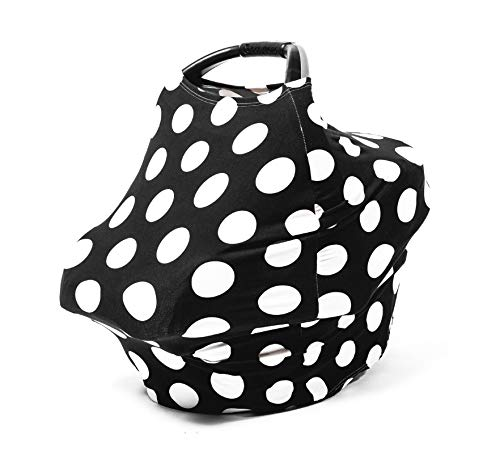 HeyBabes Car Seat Cover, Infant Breastfeeding Cover Carseat Canopy Nursing Covers