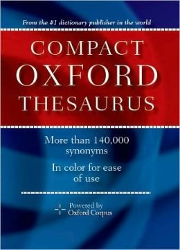 (Oxford Compact Thesaurus)
