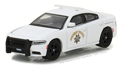 Greenlight 1/64 CHP California Highway Patrol 2016 Dodge Charger Police (Diecast Car Highway)