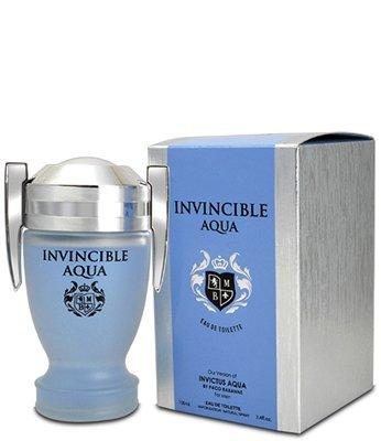 Amazoncom Invincible Aqua Mens Cologne 34 Oz Edp Impression