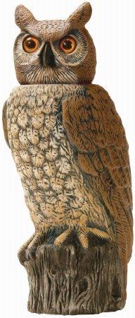 Gardeneer Rotating-Head Owl [Set of 4]