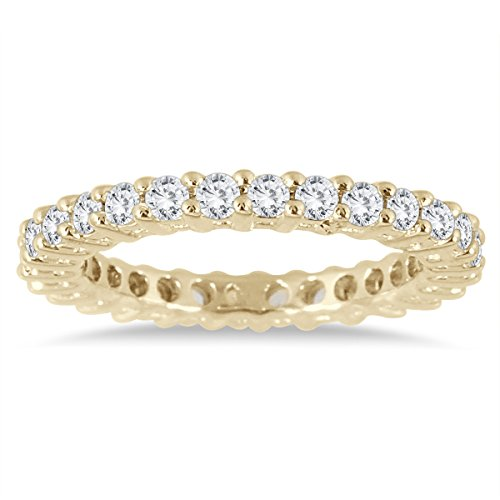 1 Carat TW Diamond Eternity Band in 10K Yellow ()