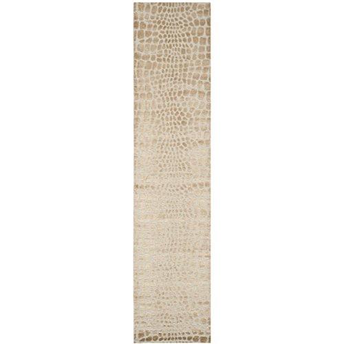 Safavieh Martha Stewart Collection MSR5212A Amazonia Premium Wool and Silk Raft Runner Rug (2'3
