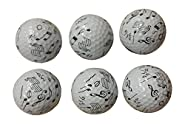 Music Golf Balls (6 Pack)