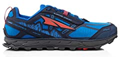 The Lone Peak 4.0 is a fresh take on Altra's original trail shoe. The new upper includes a better integrated tongue and added drainage capacity. The improved TrailClaw and carved out lugs make for gnarly, traction.