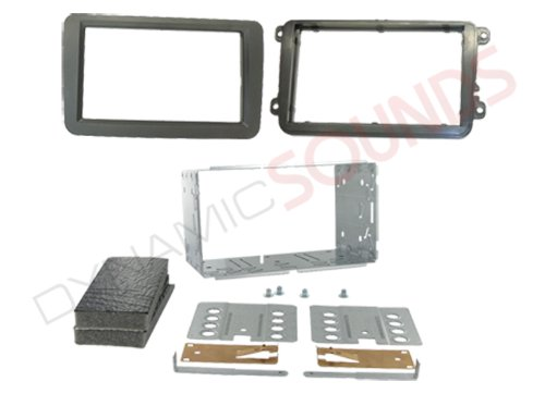 Connects2 VW Sharan 1999-2005  Double Din Car Stereo Facia Fascia Panel