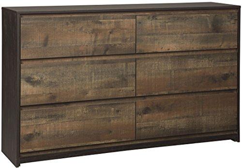Dark Cherry Tv Chest (Signature Design by Ashley B320-31 Windlore Rustic Dresser, One Size)