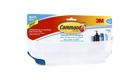 BATH11-ESBU You are purchasing the Min order quantity which is 2 PACKAGE BATH11-ESBU Shower Caddy with Water-Resistant Strips 3M