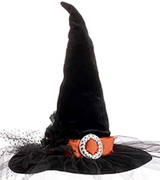 RAZ Imports Halloween Decor Elegant Witch's Hat