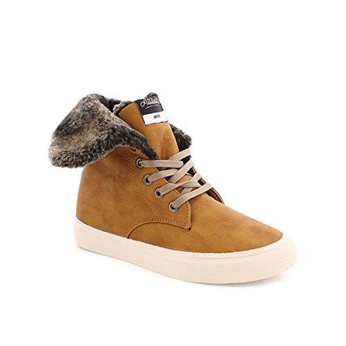 MTNG 69655 - Zapatillas de Deporte Unisex, Color careto Camel, Talla 38