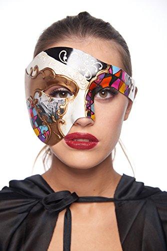 Gondola Half-Face Mask (Unisex; One Size Fits Most; Rainbow)