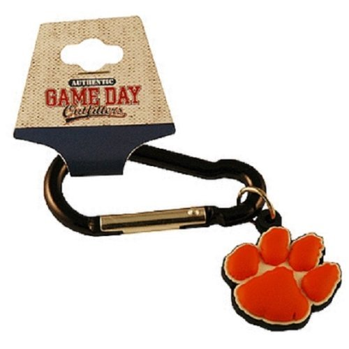 - Jenkins Enterprises Clemson Tigers Team Logo NCAA Carabiner Keychain