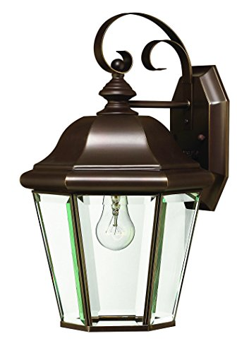 - Hinkley 2423CB Traditional One Light Wall Mount from Clifton Park collection in Copperfinish,