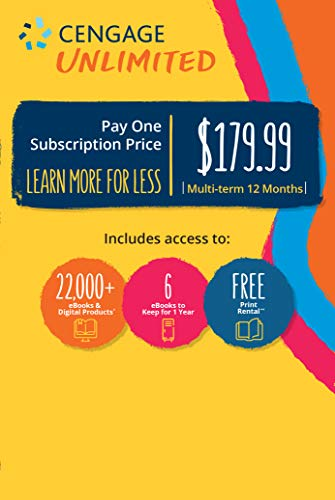 Cengage Unlimited, Multi-term (12 months), 1st Edition [Online Code]