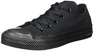 Converse Chuck Taylor All Star Shoes (M9166) Low top in Black, 3 D(M) US Mens / 5 B(M) US Womens, Black