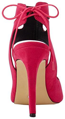 Abierta Seema Panorama Mujer Rosa Zapatos Badi para con Tacón de André Punta w0f5x7qFa