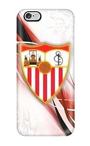 Oscar M. Gilbert's Shop New Style Sevilla Fc Logo Fashion Tpu 6 Plus Case Cover For Iphone 1350627K26719235