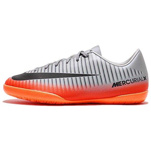 NIKE MercurialX Jr. Victory VI CR7 Little/Big Kids' Indoor/Court Soccer Shoe (1 Little Kid - Indoor Girls Shoes Nike Soccer