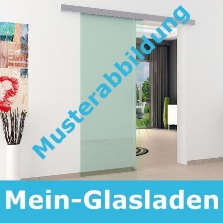 wartungsfrei und vom deutschen Markenher sehr hochwertig und Made in Germany laufruhih 2000 mm L/änge f/ür Scheiben in z.B 775 mm 900 mm oder 1025 mm Breite Glasschiebet/ürbeschlag Schiene f/ür Glasschiebet/ür Beschlag LEVIDOR in ca