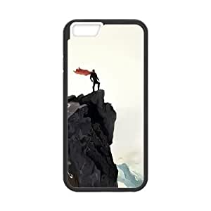 iPhone 6 Plus 5.5 Inch Cell Phone Case Black Man With Cape FXS_521261