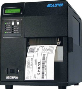 Sato WM8430041 Series M84PRO Industrial Thermal Printer, 305 dpi Resolution, 8 ips Print Speed, Ethernet Interface, DT/TT, (Sato M84pro Barcode Printer)